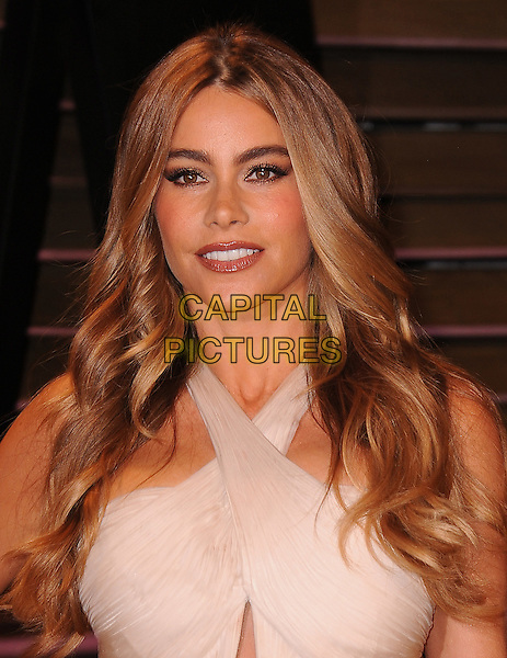 WEST HOLLYWOOD, CA - MARCH 2: Sofia Vergara arrives at the 2014 Vanity Fair Oscar Party in West Hollywood, California on March 2, 2014.<br /> CAP/MPI<br /> &copy;MPI213/MediaPunch/Capital Pictures