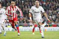 Miranda and Pepe during La Liga Match. December 02, 2012. (ALTERPHOTOS/Caro Marin)