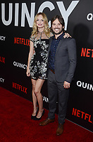 NEW YORK, NY - SEPTEMBER 12: Erin Riochards and Alan Hicks attend the New York Premiere of Netflix&rsquo;s Quincy at The Museum of Modern Art on September 12, 2018 in New York City. <br /> CAP/MPI/RH<br /> &copy;RH/MPI/Capital Pictures