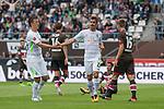 22.07.2017, Millerntor-Stadion, Hamburg, GER, FSP, FC St. Pauli vs SV Werder Bremen<br /> <br /> im Bild<br /> Fin Bartels (Werder Bremen #22) bejubelt seinen Treffer zum 1:1 Ausgleich mit Max Kruse (Werder Bremen #10), <br /> <br /> Foto &copy; nordphoto / Ewert