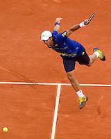 31-05-10, Tennis, France, Paris, Roland Garros,  Fernando Verdasco