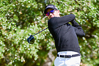 Camilo Villegas (COL) hits his provisional drive on 2 during round 4 of the Valero Texas Open, AT&amp;T Oaks Course, TPC San Antonio, San Antonio, Texas, USA. 4/23/2017.<br /> Picture: Golffile | Ken Murray<br /> <br /> <br /> All photo usage must carry mandatory copyright credit (&copy; Golffile | Ken Murray)