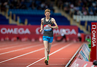 Tom Bosworth of GBR during the Mens Walk vs Run race during the Muller Grand Prix Birmingham Athletics at Alexandra Stadium, Birmingham, England on 20 August 2017. Photo by Andy Rowland.