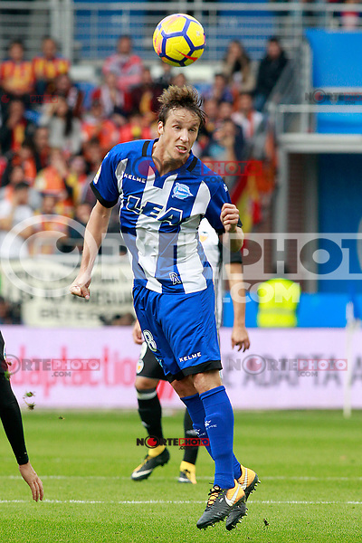 Deportivo Alaves' Tomas Pina during La Liga match. October 28,2017. (ALTERPHOTOS/Acero) /NortePhoto.com