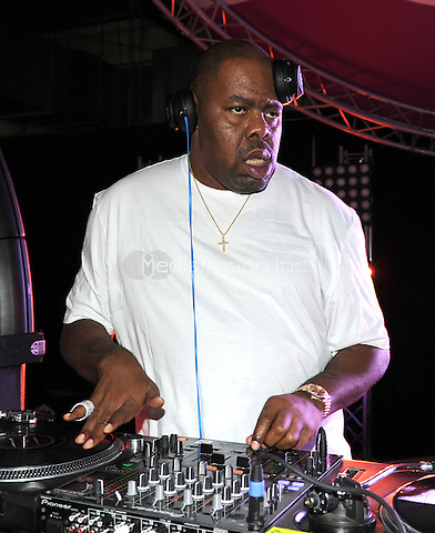 NEW ORLEANS, LA - JULY 2: Biz Markie spins at the 2015 Essence Festival Day Party at the Sugar Mill on July 2, 2015 in New Orleans, Louisiana. Credit: PGFM/MediaPunch