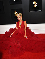 LOS ANGELES, CA - FEBRUARY 10: Bebe Rexha at the 61st Annual Grammy Awards at the Staples Center in Los Angeles, California on February 10, 2019. <br /> CAP/MPIFS<br /> &copy;MPIFS/Capital Pictures