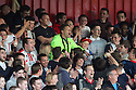 Ashley Bayes in the crowd. Mitchell Cole Benefit Match - Lamex Stadium, Stevenage - 7th May, 2013. © Kevin Coleman 2013. ..