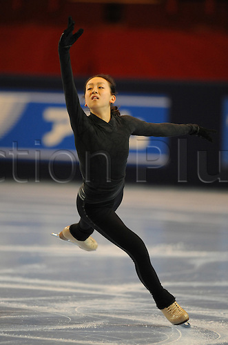 Mao Asada (JPN), November 15, 2009 - Figure Skating : ISU Grand Prix of Figure Skating 2009/2010 the Eric Trophy Bompard 2009, Practice at Palais Omnisports de Paris Bercy in Paris, France (Photo by Atsushi Tomura/Actionplus)