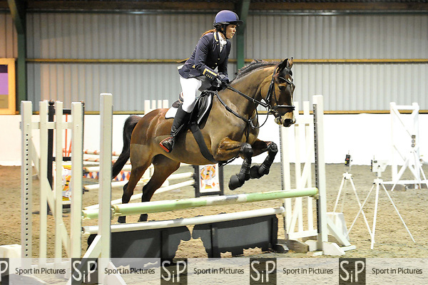 Class 7. Unaffiliated showjumping. Brook Farm Training Centre. Essex. UK. 06/01/2019. ~ MANDATORY Credit Garry Bowden/Sportinpictures - NO UNAUTHORISED USE - 07837 394578
