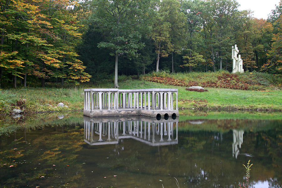 Philip Johnson's Glass House Estate, New Canaan, CT<br />