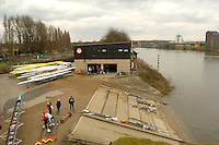 Chiswick, London. ENGLAND,11.03.2006, Tideway Scullers Club, Boat House. Women's Head of the River Race Mortlake to Putney  on Saturday 11th March    © Peter Spurrier/Intersport-images.com.. 2006 Women's Head of the River Race. Rowing Course: River Thames, Championship course, Putney to Mortlake 4.25 Miles Tideway Scullers School, Boathouse. TTS Boat House
