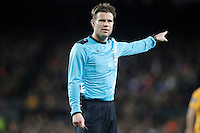 German referee Felix Brych during Champions League 2015/2016 match. April 5,2016. (ALTERPHOTOS/Acero) <br /> Barcellona 05-04-2016 <br /> Football Calcio 2015/2016 Champions League <br /> Barcellona - Atletico Madrid Quarti di finale<br /> Foto Alterphotos / Insidefoto <br /> ITALY ONLY