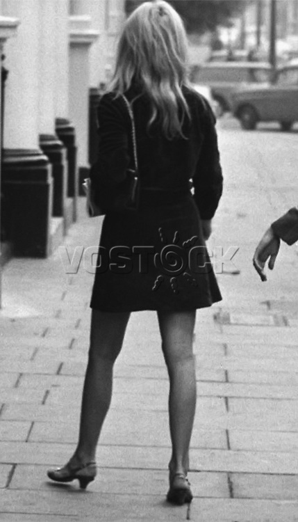 "Brigitte Bardot during the making of ""Two Weeks in September"", 1966."