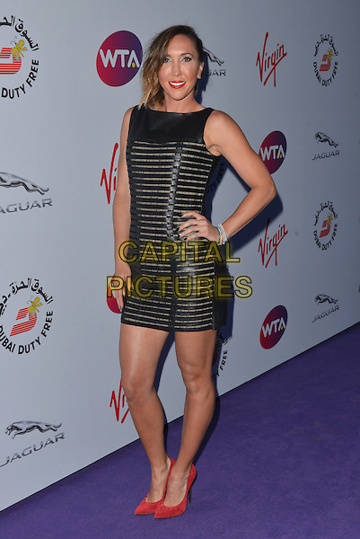 Jelena Jankovic<br /> attending the WTA Pre-Wimbledon Party at  The Roof Gardens, Kensington, London England 25th June 2015.<br /> CAP/PL<br /> &copy;Phil Loftus/Capital Pictures