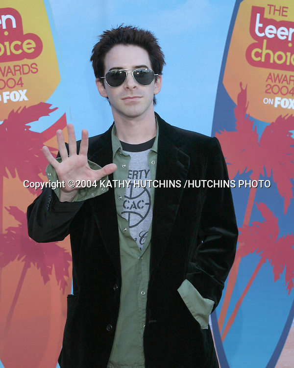 ©2004 KATHY HUTCHINS /HUTCHINS PHOTO.TEEN CHOICE AWARDS 2004.UNIVERSAL CITY, CA.AUGUST 8, 2004..SETH GREEN