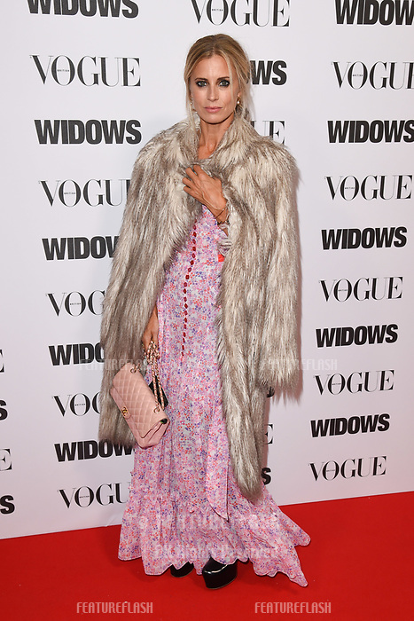 LONDON, UK. October 31, 2018: Laura Bailey at the &quot;Widows&quot; special screening in association with Vogue at the Tate Modern, London.<br /> Picture: Steve Vas/Featureflash