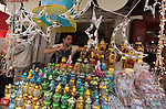 A Palestinian vendor sells a traditional Ramadan lantern in his shop at a market in Gaza City, as Muslims prepare for the upcoming holy fasting month of Ramadan, on June 28, 2014. on the eve of the start of the Muslim holy month of Ramadan. During Ramadan, Muslim believers abstain from eating, drinking, smoking and having sex from dawn until sunset. Ramadan is sacred to Muslims because it is during that month that tradition says the Koran was revealed to the Prophet Mohammed. Photo by Ashraf Amra