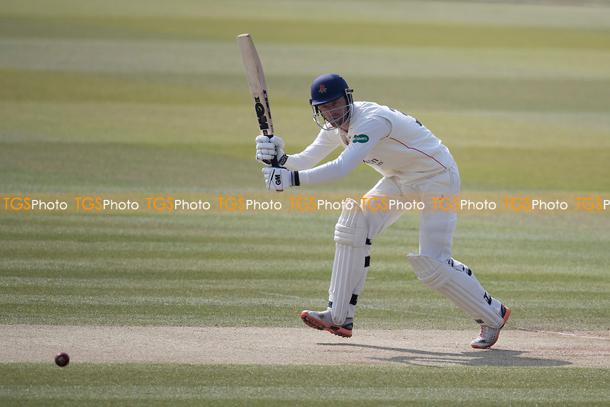 Dane Vilas of Lancashire CCC clips through mid wicket  for four during Middlesex CCC vs Lancashire CCC, Specsavers County Championship Division 2 Cricket at Lord's Cricket Ground on 13th April 2019