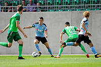 RODINGHAUSEN, Voetbal, Rodinghausen - FC Groningen, voorbereiding  seizoen 2017-2018, 15-07-2017, FC Groningen speler Oussama Idrissi