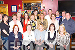 Noreen Buckley Keel seated third from left and her sister in law Patricia Buckley Keel forth from left celebrated their 40th birthdays with their friends in the Anvil Bar Boolteens on Saturday night   Copyright Kerry's Eye 2008