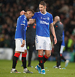 08.11.2019 League Cup Final, Rangers v Celtic: James Tavernier and Nikola Katic
