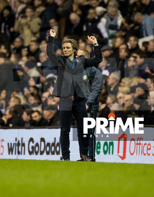 Wycombe Wanderers Manager Gareth Ainsworth during the FA Cup 4th round match between Tottenham Hotspur and Wycombe Wanderers at White Hart Lane, London, England on the 28th January 2017. Photo by Liam McAvoy.