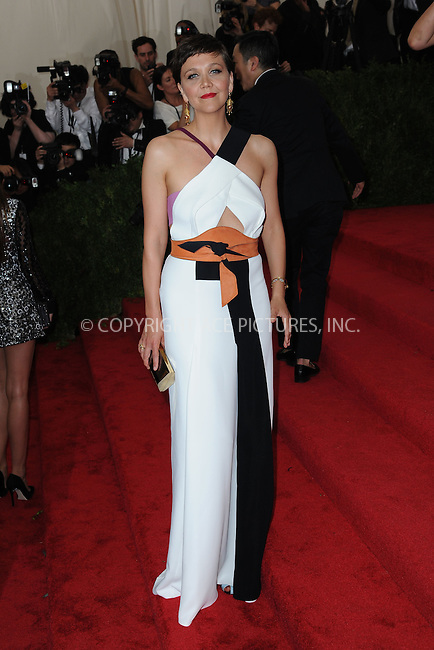 WWW.ACEPIXS.COM<br /> May 4, 2015...New York City<br /> <br /> Maggie Gyllenhaal attending the Costume Institute Benefit Gala  celebrating the opening of China: Through the Looking Glass at The Metropolitan Museum of Art on May 4, 2015 in New York City.<br /> <br /> Please byline: Kristin Callahan<br /> ACEPIXS.COM<br /> Tel# 646 769 0430<br /> e-mail: info@acepixs.com<br /> web: http://www.acepixs.com