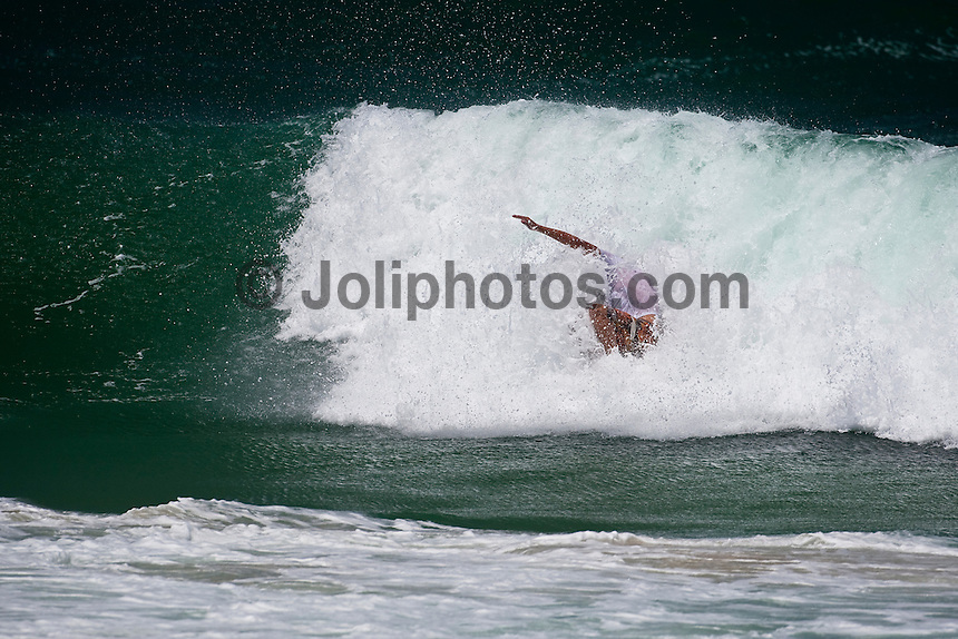 JAY 'BOTTLE 'THOMPSON (AUS) surfing at Burleigh Heads, Queensland, Australia. Photo: joliphotos.com