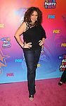 SANTA MONICA, CA. - August 02: Diana Maria Riva arrives at the FOX 2010 Summer TCA All-Star Party at Pacific Park - Santa Monica Pier on August 2, 2010 in Santa Monica, California.