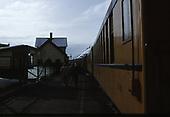 The D&amp;SNG Cascade Canyon winter train at the Durango depot.<br /> D&amp;S  Durango, CO
