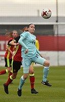 20171123 - TUBIZE , BELGIUM : Russian Komissarova pictured during a friendly game between the women teams of the Belgian Red Flames and Russia at complex Euro 2000 in Tubize , Thursday  23 October 2017 ,  PHOTO Dirk Vuylsteke | Sportpix.Be