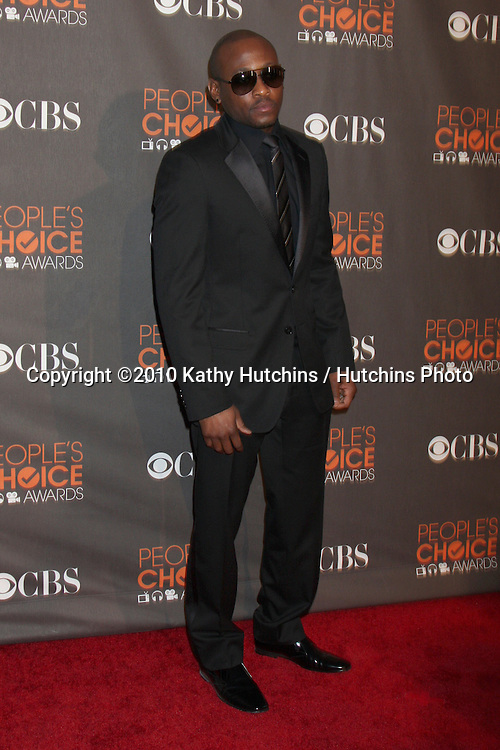 Omar Epps.arriving  at the 2010 People's Choice Awards.Nokia Theater.January 6, 2010.©2010 Kathy Hutchins / Hutchins Photo.