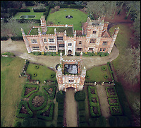 BNPS.co.uk (01202 558833)<br /> Pic: Abbotts/BNPS<br /> <br /> It's unusual to combine Henry VIII and Stayin' Alive together in one property - but this romantic Tudor pile in the remote heart of Norfolk does.<br /> <br /> Not only was Henry VIII a regular visitor to the magnificent 16th century East Barsham Manor but legendary Bee Gees manager Robert Stigwood also held court there in the 1970's. <br /> <br /> The Tudor monarch stayed at the Manor House near Fakenham in Norfolk on five separate occasions - but incredibly never with the same wife. <br /> <br /> Now Grade I listed, Henry used the impressive ten bedroom redbrick residence as his base when visiting a nearby shrine to Our Lady of Walsingham, the Virgin Mary. <br /> <br /> Stigwood lived there in the early 1970's around the time the massive hit movie Saturday Night Fever was being planned.<br /> <br /> The historic 500 year old manor is now on the market for &pound;3 million through estate agents Abbots.