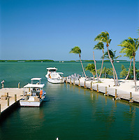 USA, Florida Keys, Islamorada: Fishing Boats & Keys | USA, Florida Keys, Islamorada: Boote