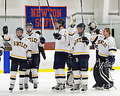 - The Bentley University Falcons defeated the visiting Robert Morris University Colonials 2-1 on Friday, January 6, 2012, at the John A. Ryan Skating Arena in Watertown, Massachusetts.