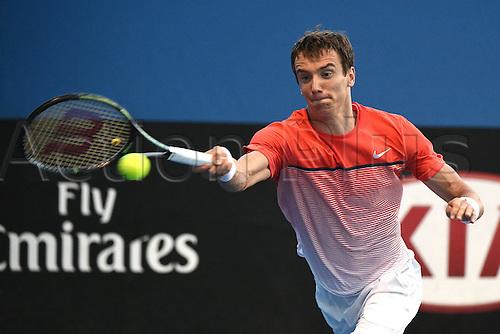 22.01.2016. Melbourne Park, Melbourne, Australia, Australian Open Tennis Championships.  Andrey Kuznetsov (RUS)