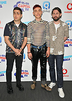 Years &amp; Years (Olly Alexander, Mikey Goldsworthy and Emre T&uuml;rkmen) at the Capital FM Summertime Ball 2018, Wembley Stadium, Wembley Park, London, England, UK, on Saturday 09 June 2018.<br /> CAP/CAN<br /> &copy;CAN/Capital Pictures