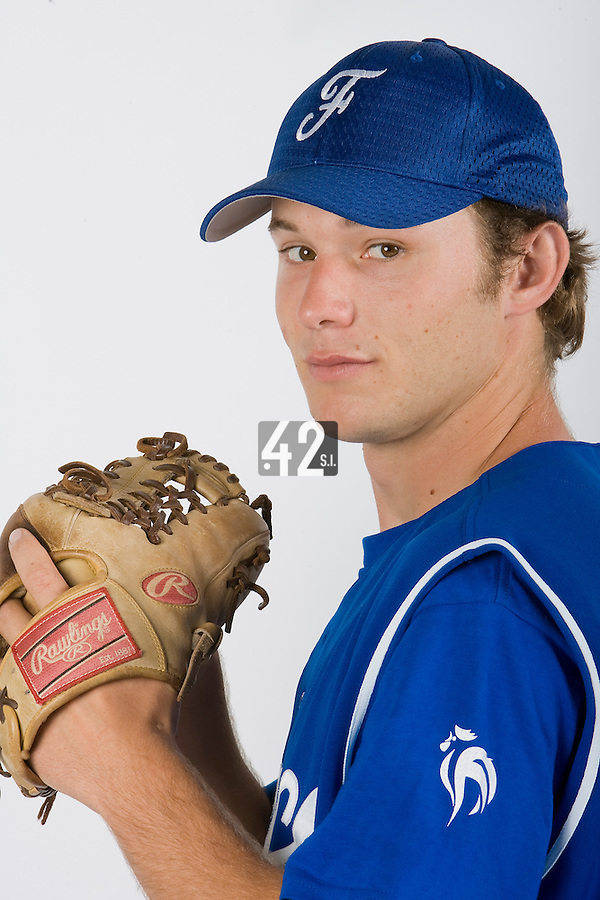 15 Aug 2007: Edouard Masse  - Team France Baseball