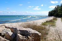 Shoreline at Northpoint Harbor, Door County, Wisconsin