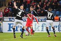 Turgul Erat (Fortuna) zieht ab - FSV Frankfurt vs. Fortuna Düsseldorf, Frankfurter Volksbank Stadion