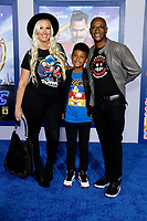 """LOS ANGELES - FEB 12:  Amanda Moore, Isaiah Davidson, Tommy Davidson at the """"Sonic The Hedgehog"""" Special Screening at the Village Theater on February 12, 2020 in Westwood, CA"""