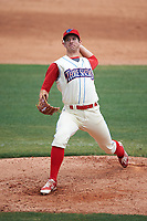 Clearwater Threshers starting pitcher Matt Imhof (48) during a game against the Daytona Tortugas on April 20, 2016 at Bright House Field in Clearwater, Florida.  Clearwater defeated Daytona 4-2.  (Mike Janes/Four Seam Images)