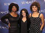 "LaChanze, Storm Lever and Ariana DeBose attends the Meet & Greet for ""Summer: The Donna Summer Musical"" on March 8, 2018 at the New 42nd Street Studios,  in New York City."