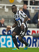 19.10.2013  Newcastle, England. Newcastle's Cheick Tiote  during the Barclays English Premier League  match between Newcastle United  and Liverpool,  From St James's Park, Newcastle.