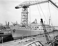 Dit schip liep in 1950 van stapel bij Cockerill-Ougre?e in Hoboken en werd ingezet tussen Antwerpen en Matadi in Belgisch Kongo. In 1967 werd het schip verkocht aan de VEB Deutsche Seereederei te Rostock en omgedoopt tot Georg Bu?chner. In 1990 ondernamen Antwerpenaren een poging om het schip terug naar de Scheldestad te halen. In 1991 werd het schip echter overgedragen aan de Stad Rostock, waar het sinds 2003 ligt aangemeerd in de Stadthafen en hoofdzakelijk gebruikt wordt als (weinig florissante) jeugdherberg. Indien Antwerpen zoals Hamburg en Rotterdam een iconisch historisch zeeschip aan zijn waterfront wil leggen, is de Charlesville een voor de hand liggende optie. Het schip is in Antwerpen gebouwd en getuigt van het indrukwekkende verleden van de Stad als rederijzetel, koloniale haven en passagiershaven.