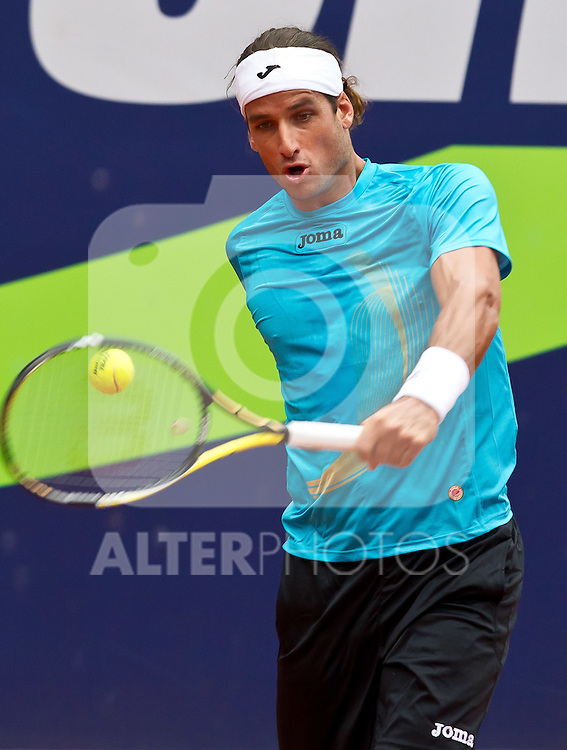 03.08.2011, Tennis Stadion, Kitzbuehel, AUT, ATP World Tour, Bet-at-Home Cup Kitzbuehel, Robin Haase (NED) vs Feliciano Lopez (ESP), im Bild Feliciano Lopez (ESP) // during ATP World Tour Bet-at-Home Cup Kitzbuehel 2011 tennis tournier, men single at tennis stadium Kitzbuehel, Austria on 03/08/2011, EXPA Pictures © 2011, PhotoCredit: EXPA/ J. Feichter