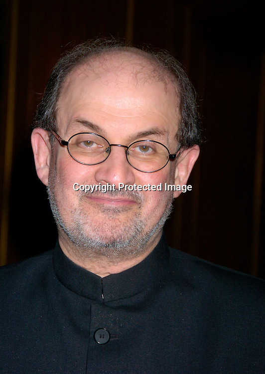 Salman Rushdie ..at the 2004 Pen Literary Dinner and the Presentation of Free Expression Awards  on April 20, 2004 at The ..Pierre Hotel in New York City. ..Photo by Robin Platzer, Twin Images