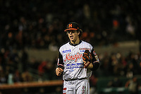 Wilmer Rios , durante el tercer juego de la Serie entre Tomateros de Culiacán vs Naranjeros de Hermosillo en el Estadio Sonora. Segunda vuelta de la Liga Mexicana del Pacifico (LMP) **26Dici2015.<br /> **CreditoFoto:LuisGutierrez<br /> **<br /> Shares during the third game of the series between Culiacan Tomateros vs Orange sellers of Hermosillo in Sonora Stadium. Second round of the Mexican Pacific League (PML)