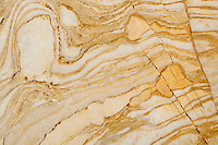 Polished marble in the narrows of Mosaic Canyon, Death Valley National Park, California