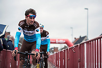 Silvan Dillier (SUI/AG2R-La Mondiale) pre race<br /> <br /> <br /> 71st Kuurne-Brussel-Kuurne (2019)<br /> Kuurne > Kuurne 201km (BEL)<br /> <br /> ©kramon
